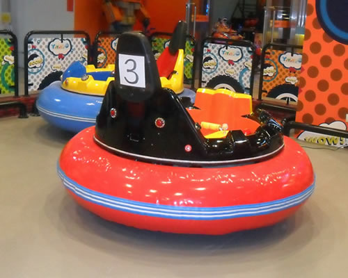 kids ufo inflatable battery operated dodgem car