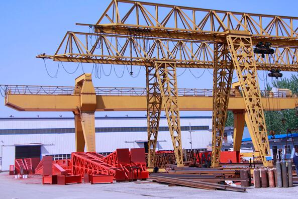 Single And Double Girder Gantry Crane 5 Toneladas
