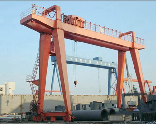 Ellsen 100 ton mobile gantry crane with high quality for sale