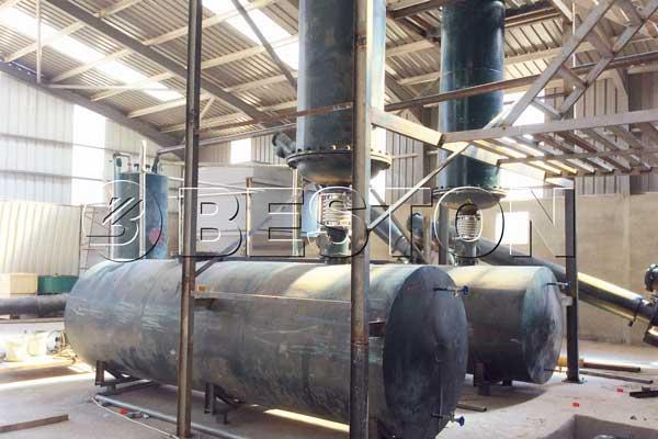 Plastic Pyrolysis Recycling Plant