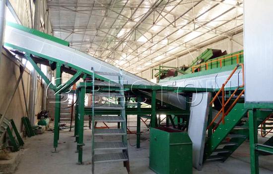 MSW management plant installation in Uzbekistan