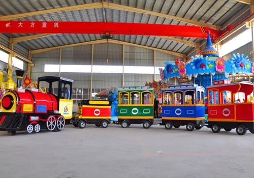 Theme Park Train Ride