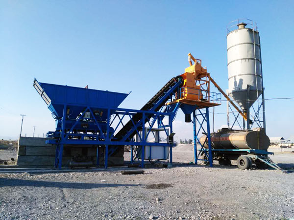 YHZS series concrete batching plant