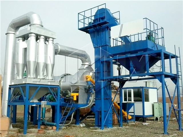 Mini Asphalt Mixing Plant From China