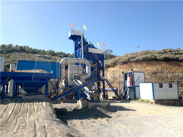 Type of Asphalt Mixing Plants in China