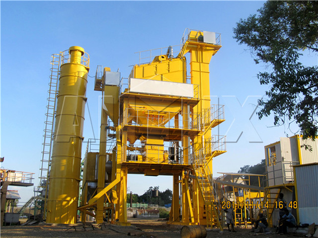 Asphalt Mixing Plant in China