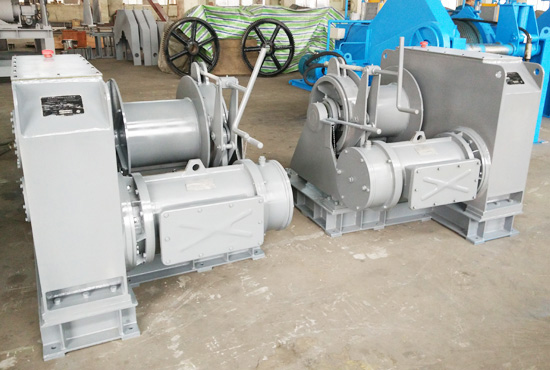 Electric Offshore Winch